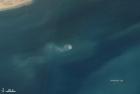 卫星图像:阿拉伯海的泥火山浮出水面
