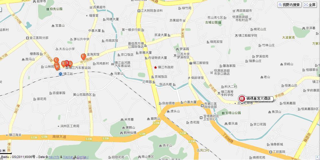 镇江会议地图