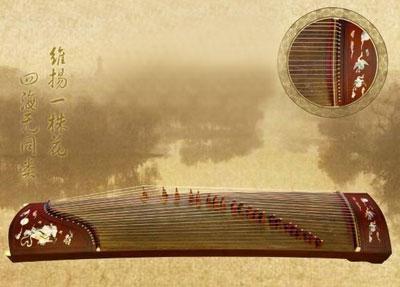古筝图片唯美壁纸