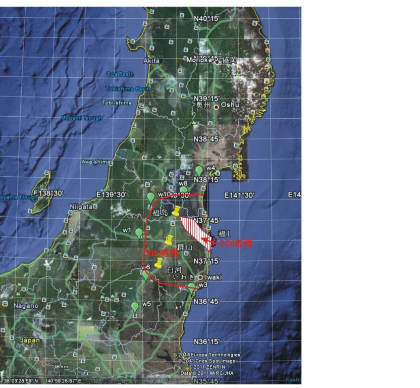科学网—福岛第一核电站核泄漏影响范围的评估