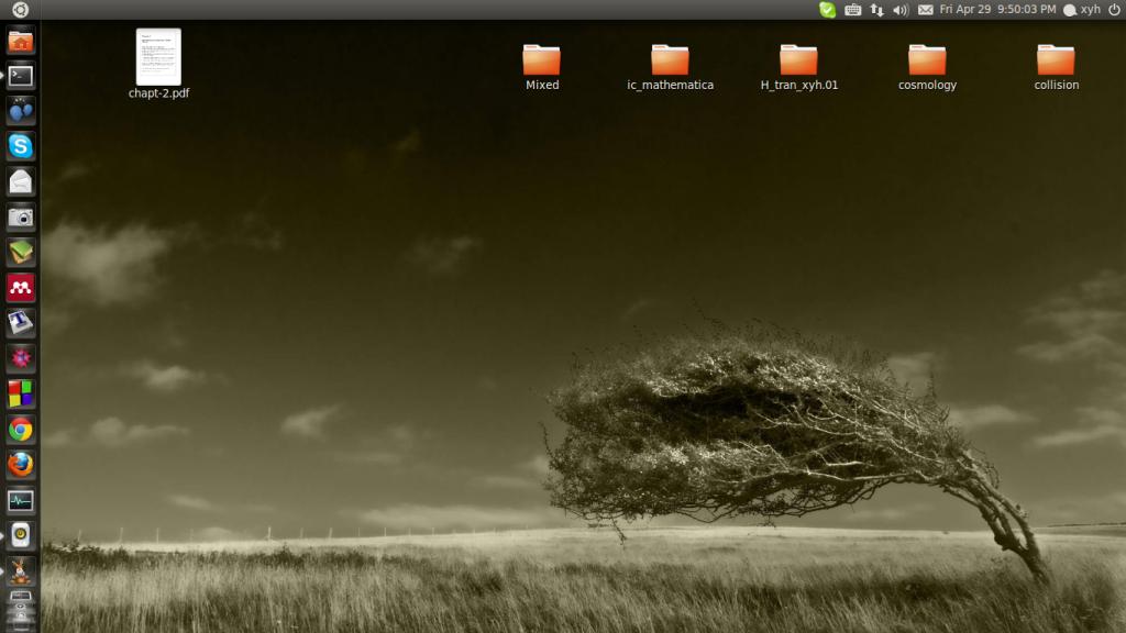 ubuntu11.04 - Dreamer - 天道酬勤!