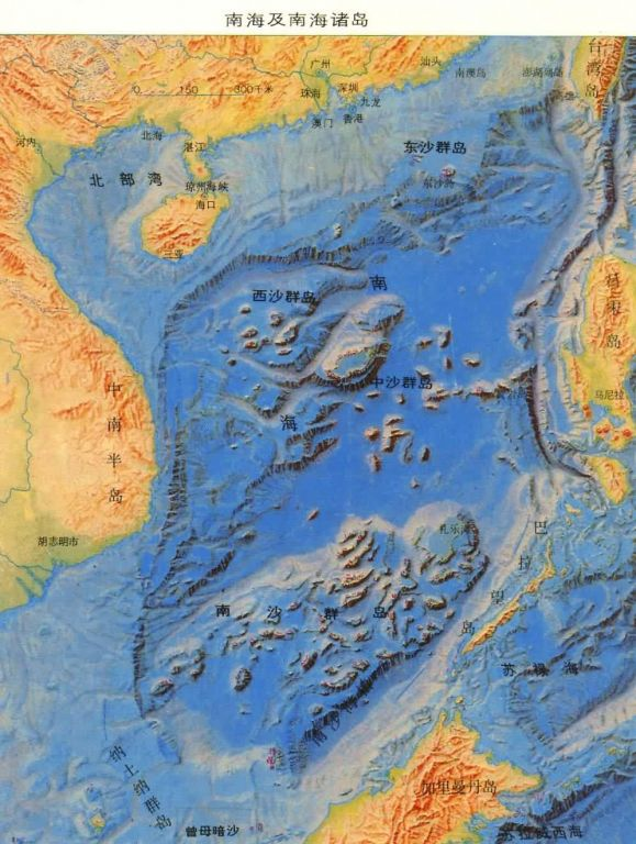 中国版图的最南边是南海的曾母暗沙!
