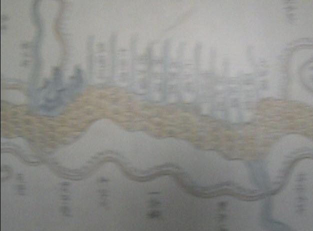 所图书馆的黄河古地图