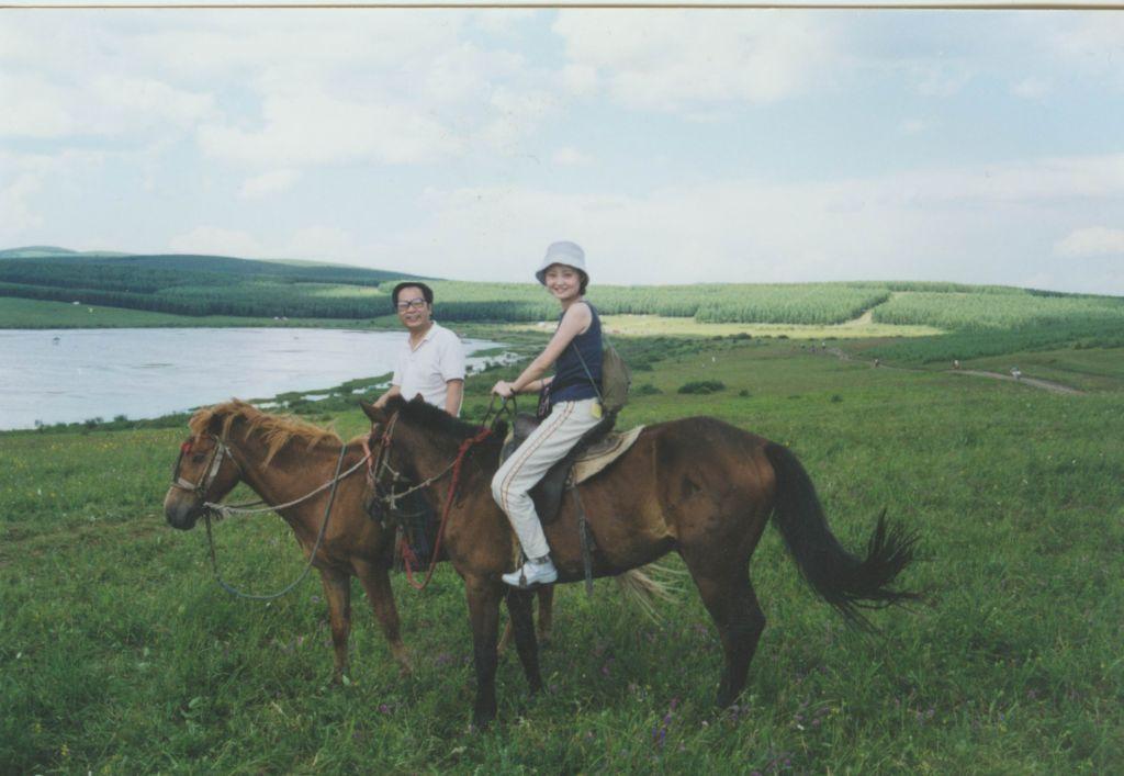 科学网—我与内蒙古草原1图片