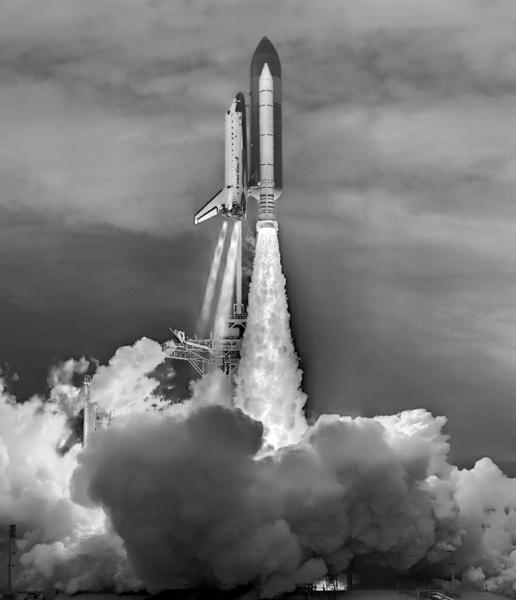 科学网—一个特殊的航天飞机发射图片