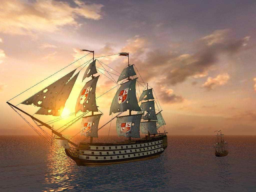 许久 航海图已在