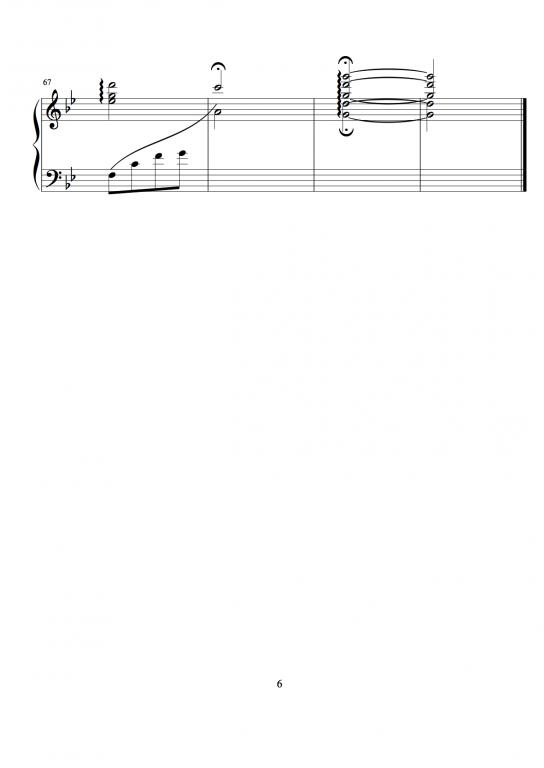 琴版——超越时空的思念