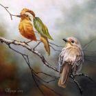 献给情人:我是一只小小鸟