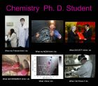 Chemistry, Ph. D. student>>>What I actually Do