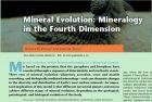 矿物演化:四维空间尺度的矿物学