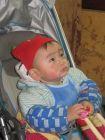儿子十个月照片