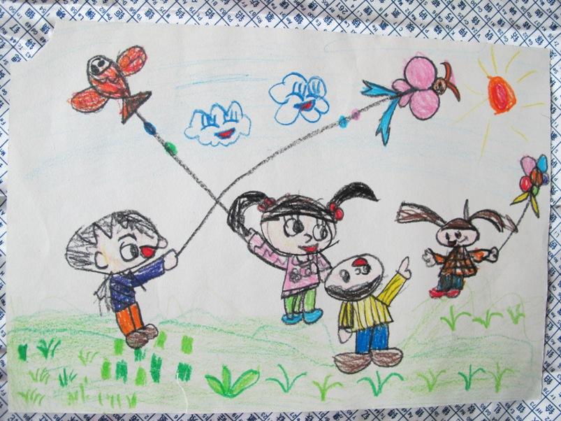 科学网—小丫头的人物画