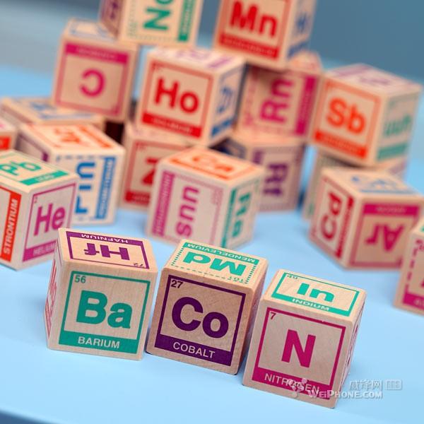 小孩 元素周期表/21.积木元素周期表,弄一堆这种积木给小孩玩,是不是有助于开发...