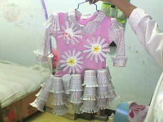 儿童环保服装制作