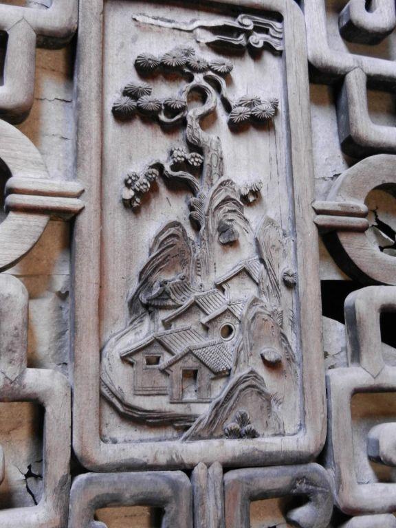 徽州木雕纹样图片