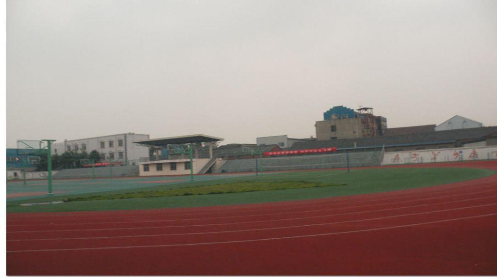 扬中市西来桥学校的体育设施