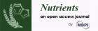 Nutrients 终于有了第一个影响因子