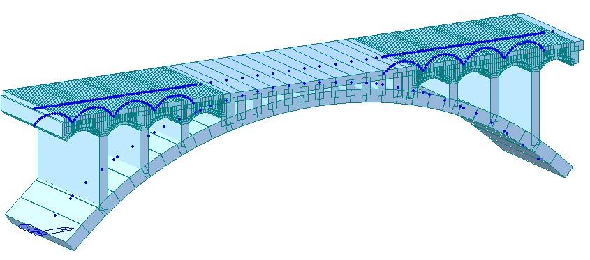 拱桥的受力分析