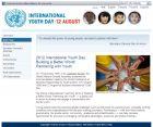 2012年8月12日,国际青年日主题:与青年人结为伙伴