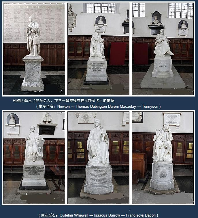 著名毕业生的玉石雕像说明