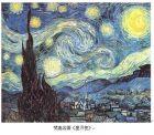 梵高《星月夜》及其洋流版