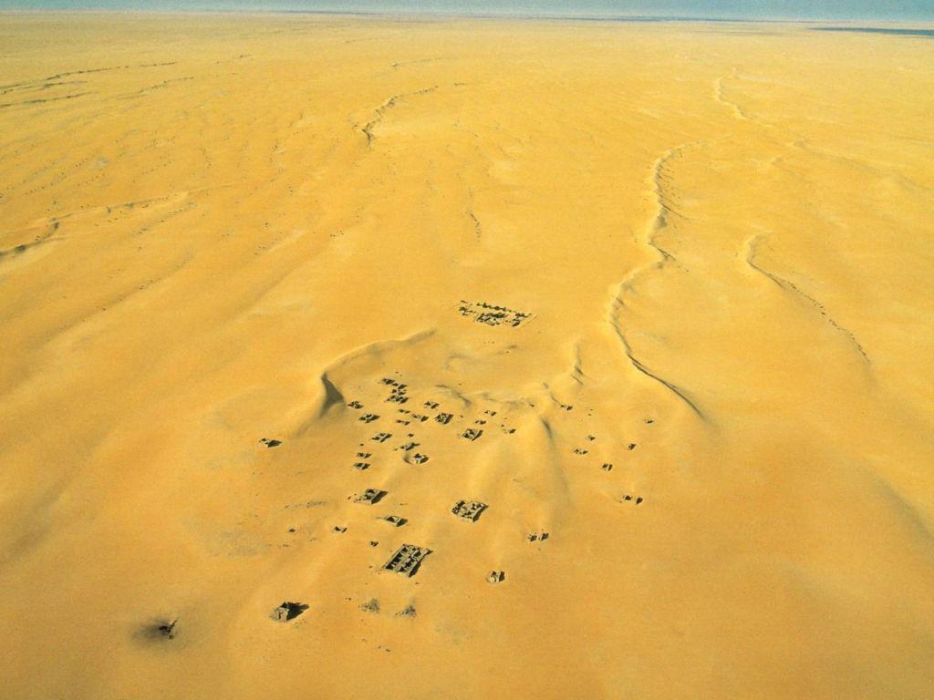 沙漠上的风成垂向层序 - 探矿者           - The Prospector blog