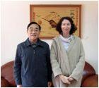 邱均平教授接受法国领事馆教育处官员专访