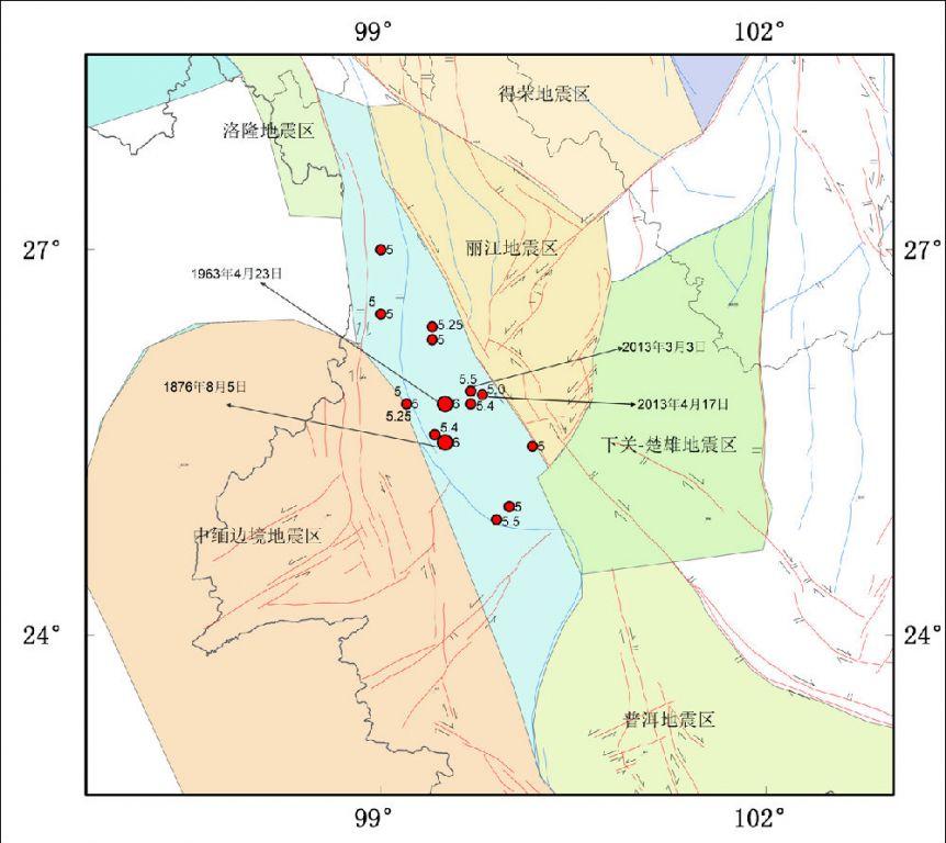 科学网—云南洱源地震区图片