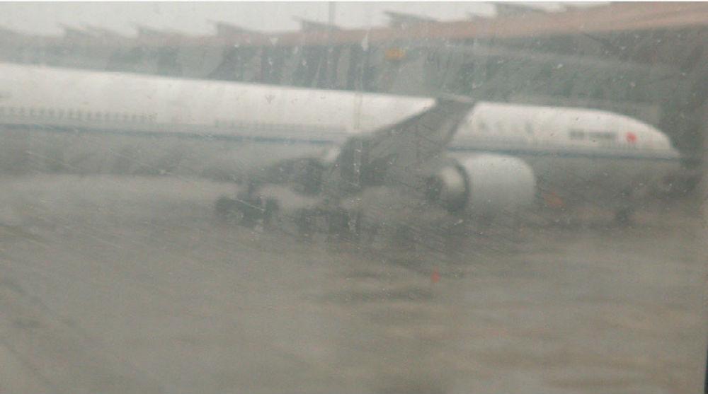 科学网—莫斯科—北京un9999航班因暴雨停上海飞北京