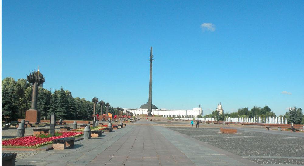 【原创】莫斯科二战胜利广场  基辅地铁站 - 白云 - 善待自我 尊严活着 老有所乐