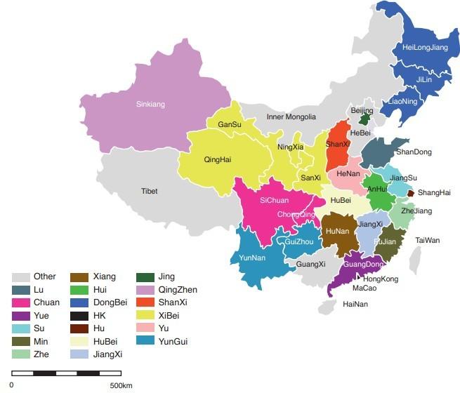 中国地图分析图