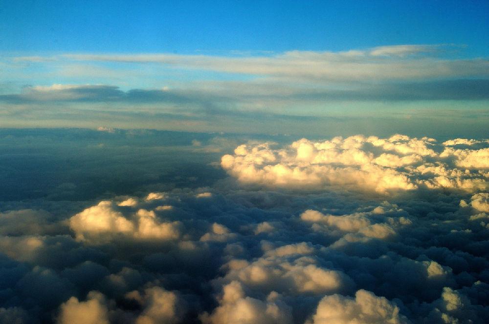 科学网—飞机窗外的风景