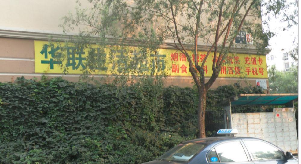 安东大街_科学网—天通苑东一区大街右侧马路门市幌子和广告(二)-黄安年