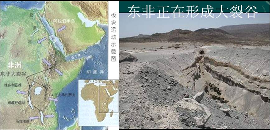 让美国科学家困惑的东非大裂谷成因 (转载) - 地理小学生 - 地理小学生