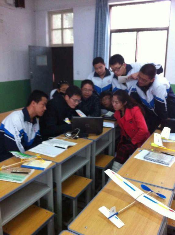 同济大学太谷二中《苗圃计划中学生科技创新项目》申报工作启动