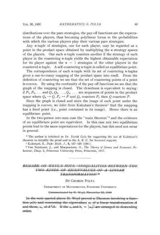 [包存宽]一句话的推荐信和二十八页的博士论文——纪念纳什 - QQ11360330 - 计算机科研与技术