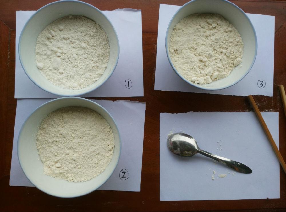 雪白的面粉能够实现吗:做一个小实验可得出结论 - 蒋高明 - 蒋高明的博客