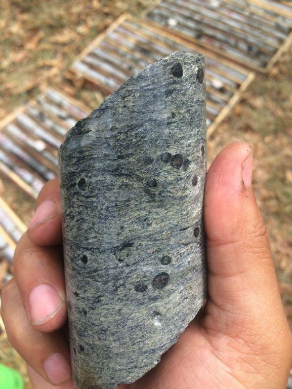 网—糜棱岩化石榴云母片岩?含石榴子石变晶糜棱岩 ...
