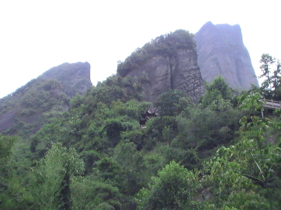 桂林崀山八角寨与塞禾平