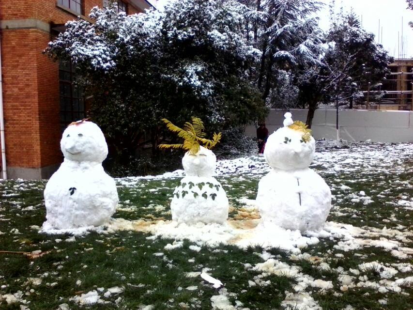2013年昆明下雪