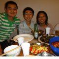 与弗里堡的中国学生聚会