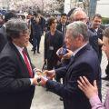 德国总统高克访问同济大学