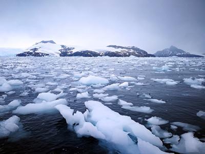 绝境逢生  南极风光