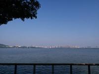 骑共享单车再游东湖