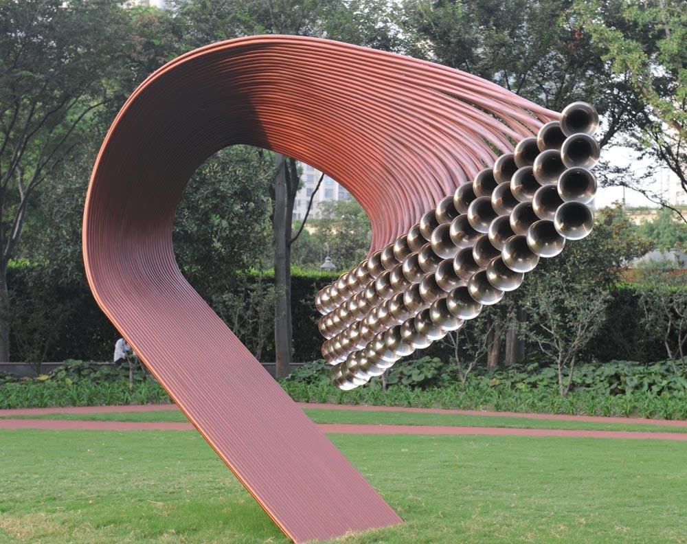 演绎城市智慧的当代雕塑(1)