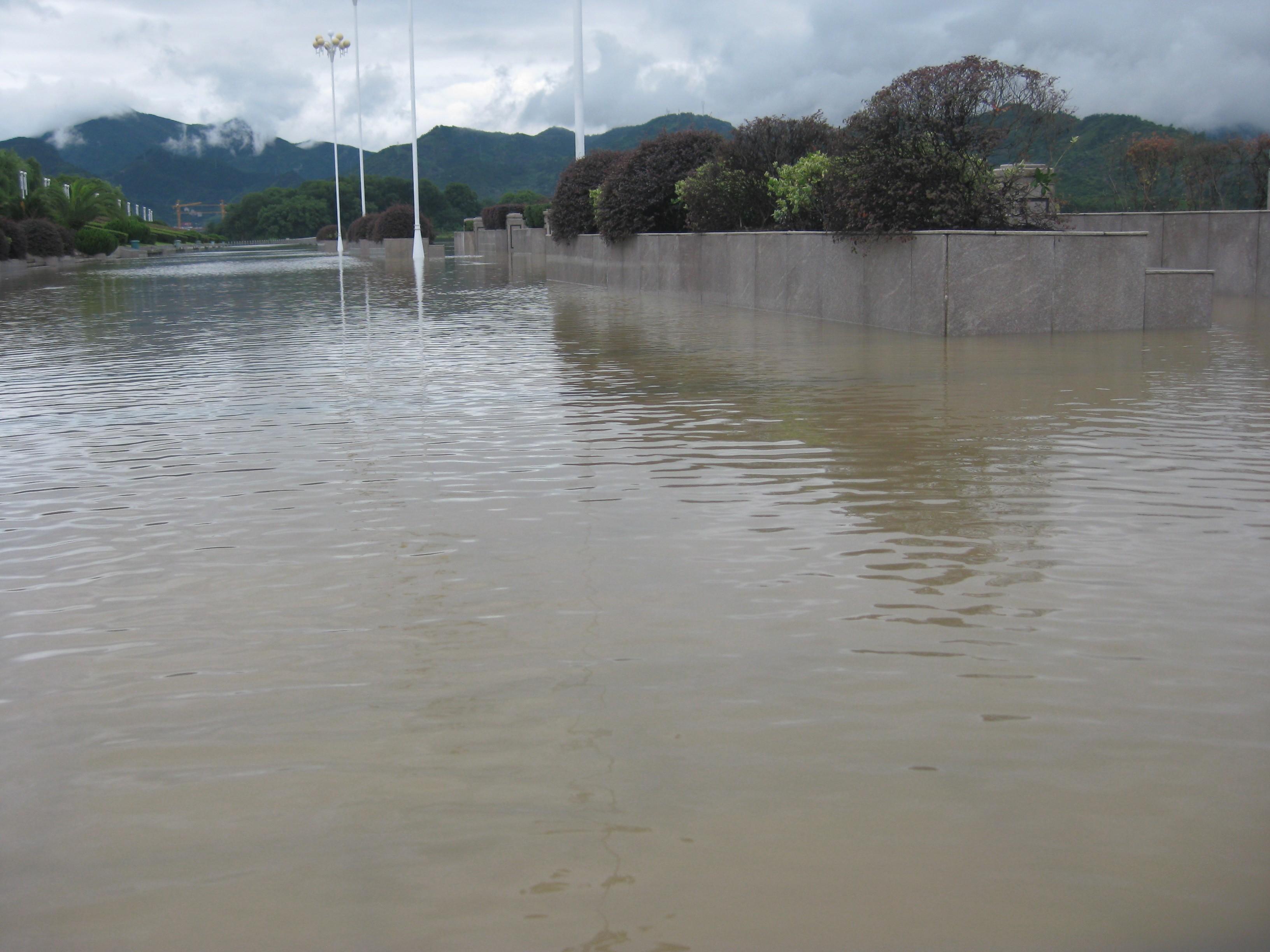 洪水湖背景素材