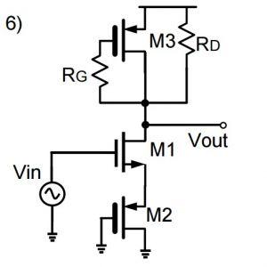 三极管和mos小信号电路的快速分析方法