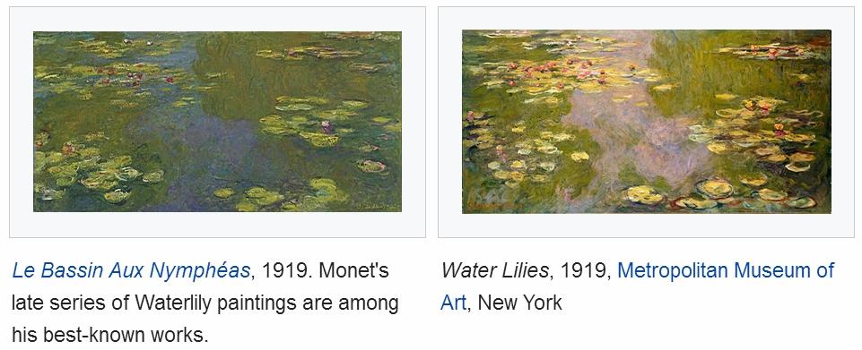 water lilies in different lights (Claude Monet).jpg