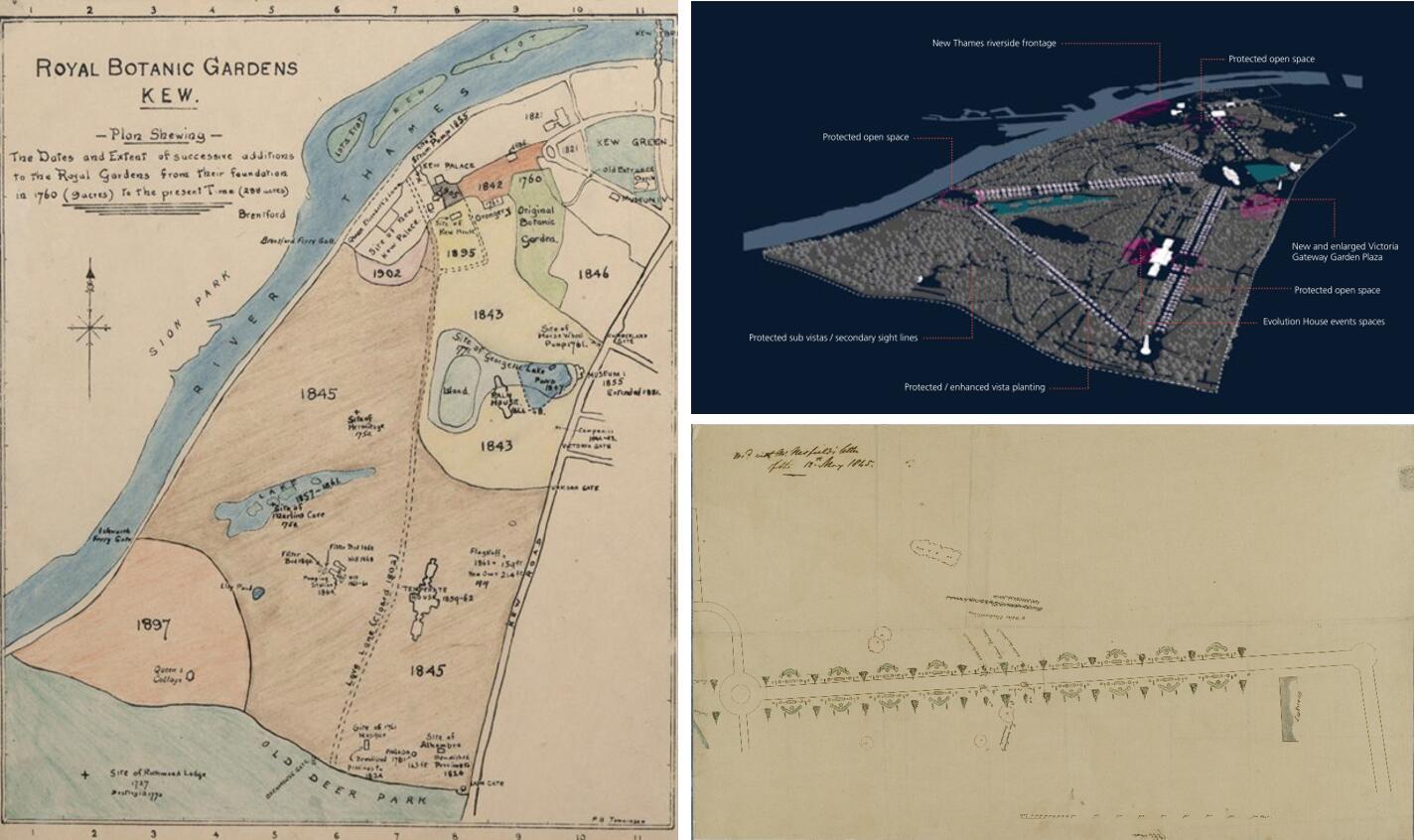图4.5 英国皇家邱园1760-1908年的扩展及景观整体格局.jpg