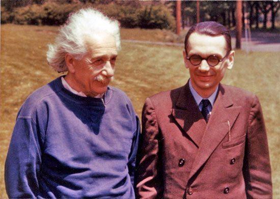 爱因斯坦 哥德尔   EinsteinGodel.jpg